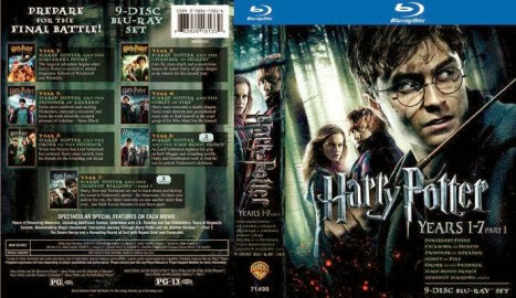 Poster Of Harry Potter Collection Box Set (1-7) (2001-2010) Full Movie Hindi Dubbed Free Download Watch Online At Alldownloads4u.Com