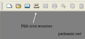 Tekan icon scan