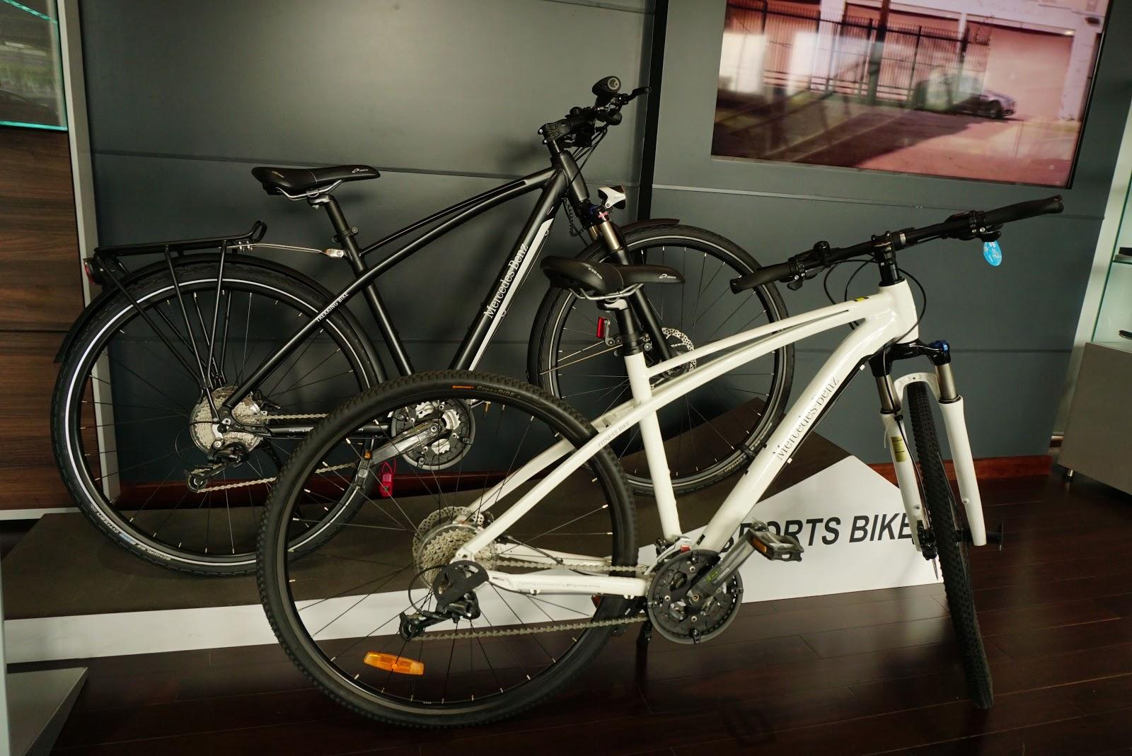Xe đạp hiệu Mercedes Benz, phù hợp với các dòng SUV du lịch