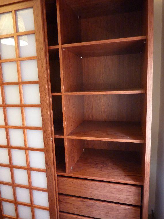 Carpinteria muebles a medida mueble estilo japon s con - Puertas correderas estilo japones ...