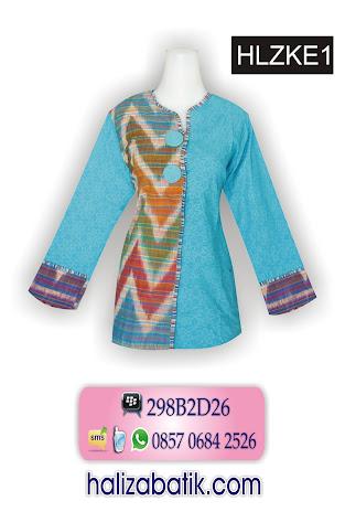 grosir batik pekalongan, Busana Batik, Baju Batik Terbaru, Baju Batik Modern