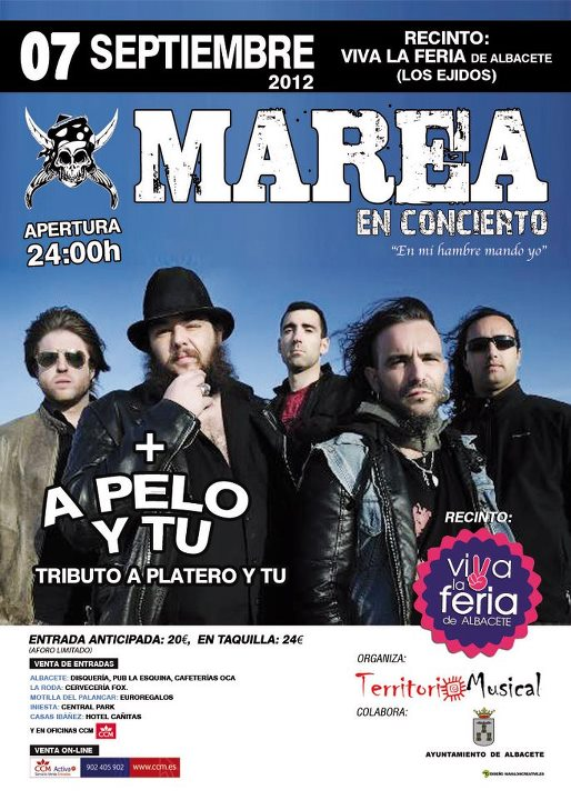 Feria de albacete 2018 concierto marea feria albacete 2012 for En mi hambre mando yo