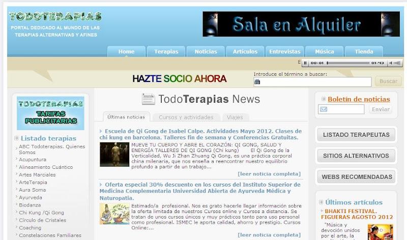 Publicaciones en la web