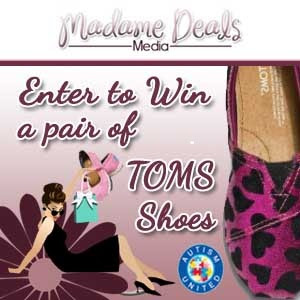 giveaway alert, giveaways, mum for a cause, TOMS Shoes