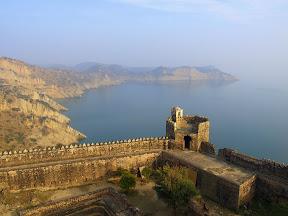 Ramkot fort, Mangla lake.