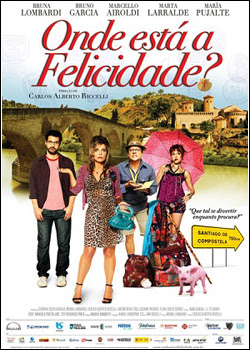 Filme Poster Onde Está a Felicidade? DVDRip XviD & RMVB Nacional