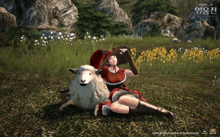 Sức mạnh đồ họa của Mabinogi Heroes - Ảnh 5