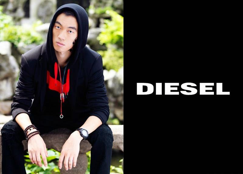 Diesel China Denim Outlaws Prefall 2014, campaña