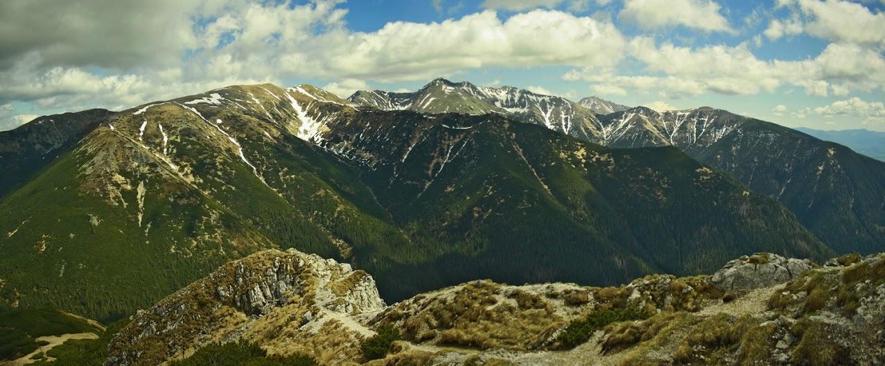 Siwy Wierch panorama