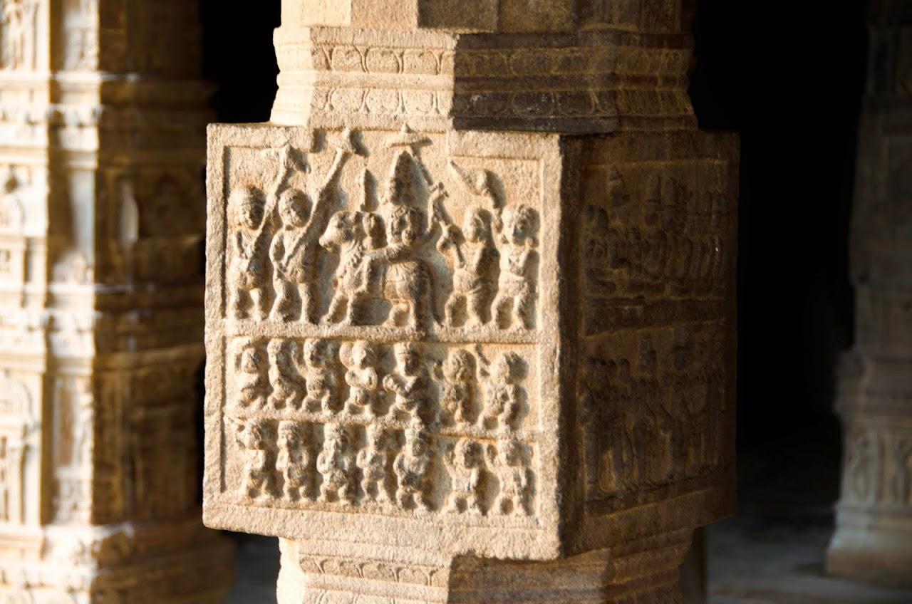 Pillars at Airavadesvara Temple
