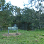Private River at Melaleuca camping ground