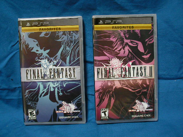 Final Fantasy I・II for PSP 北米版