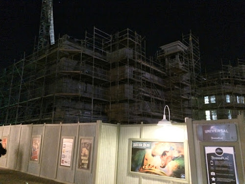 Universal orlando Wizarding world Harry potter Diagon alley construction
