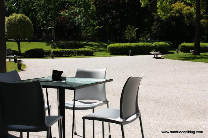 MADRID COOL BLOG museo del traje jardin terraza restaurante bokado