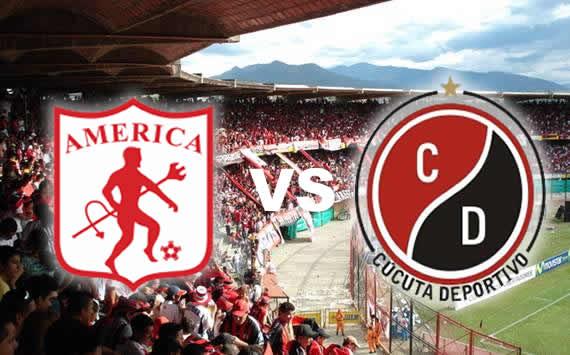 Cúcuta gana el primer juego de la Promoción derrotando 4-1 al América