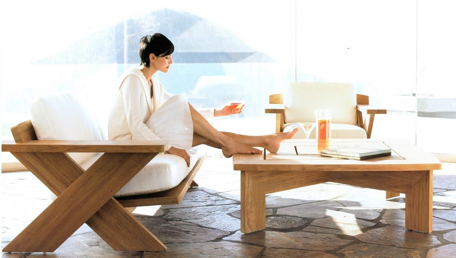 Amazing Summit X500 Teak Lounge Chair