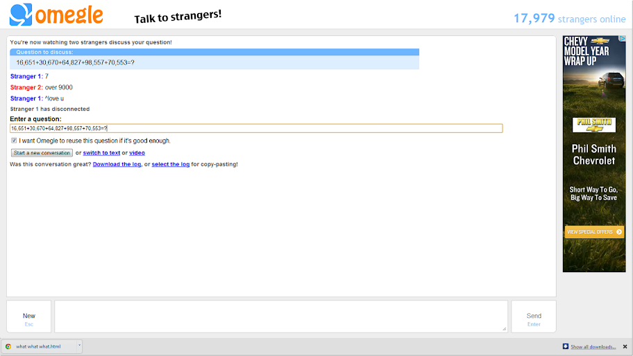 omegle young