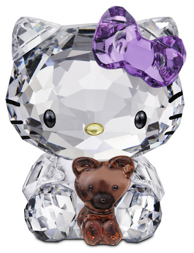 Hello Kitty en cristal de Swarovski
