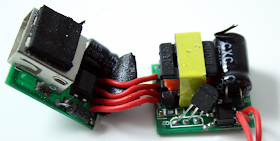 Counterfeit Apple iPhone charger internals