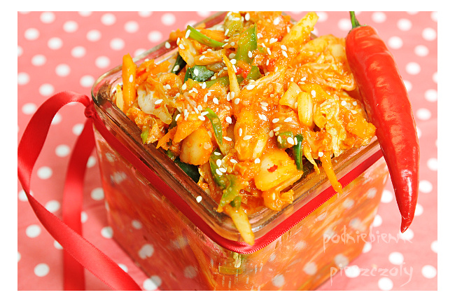 Domowe Kimchi