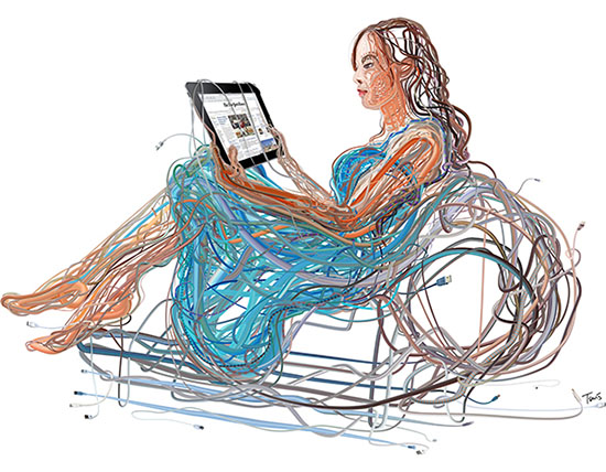 ipad and wired future of media, de Charis Tsevis