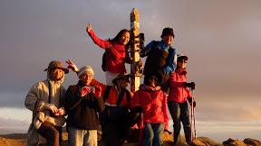 Trên đỉnh Mission Peak