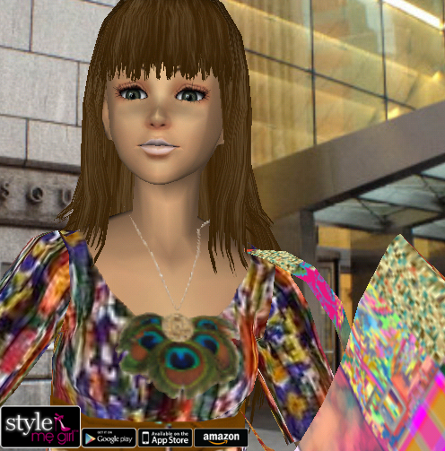 Updated Style Me Girl Level 6 Boho No Cash Items I Style Me Girl