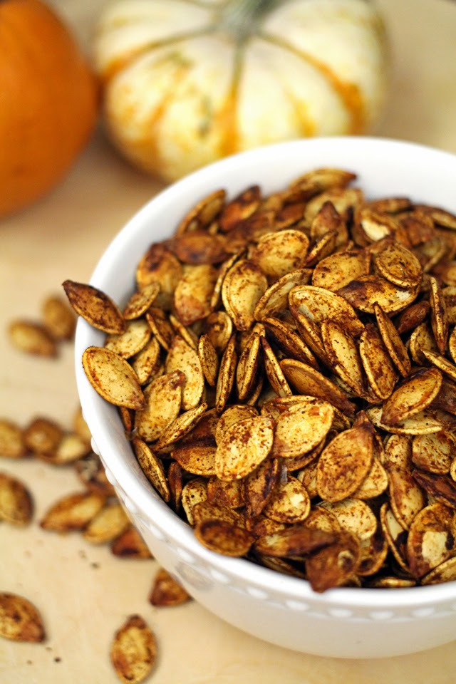 Chili Lime Pumpkin Seeds from dontmissdairy.com