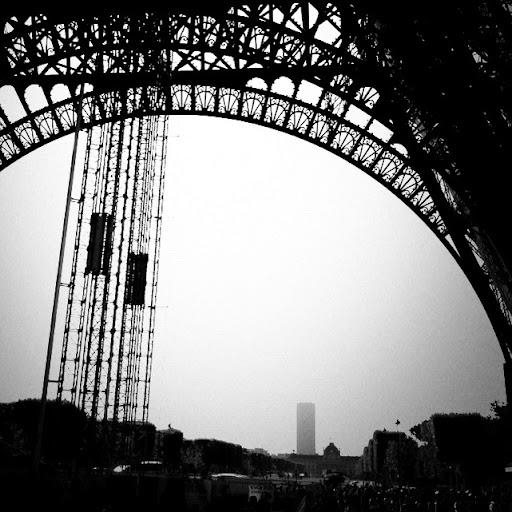 torres eiffel y Montpannasse