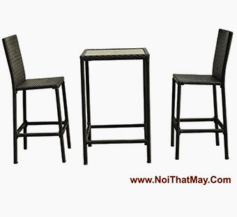 Outdoor Wicker Bar Set Minh Thy 821