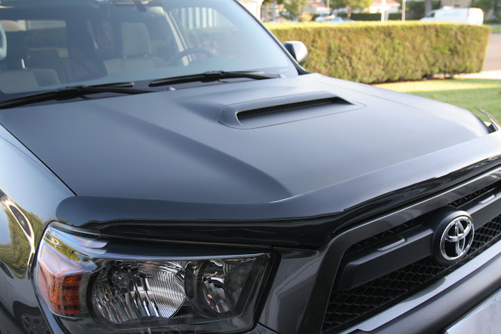Inspired By Others 3m Matte Black Te Hood Toyota
