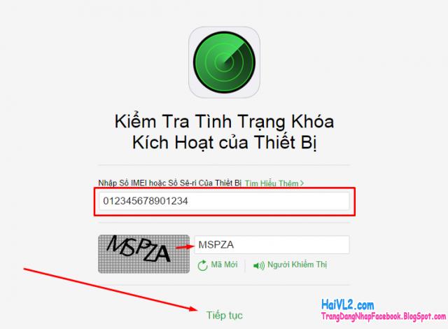 kiểm tra tình trạng khóa kích hoạt của thiết bị iPhone, iPad