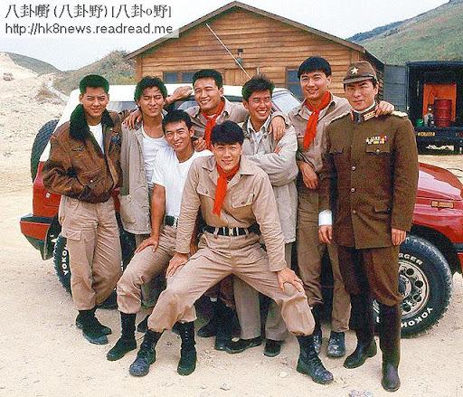 90年代風光時,惠天賜跟劉德華,苗僑偉,譚詠麟等人合演電影《富貴兵團》。