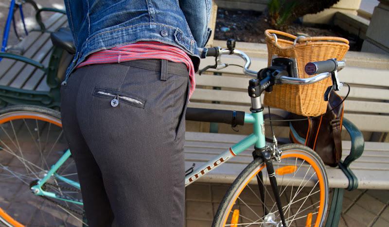 Gray Women's Bike to Work Buttons
