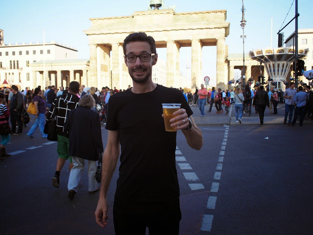oktoberfest brandenburg gate berlin germany