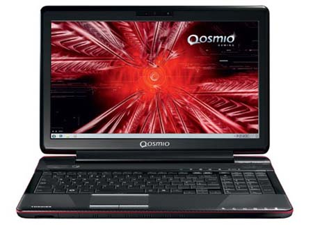 laptop Qosmio F750 3D 1 Toshiba Qosmio F750, A Glasses Free 3D laptop Review and Specs