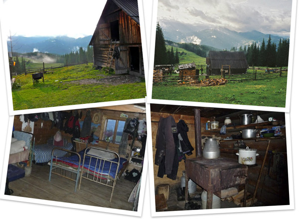 carpathians shepherds hut
