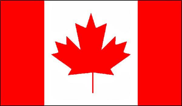 Canadá, bandera