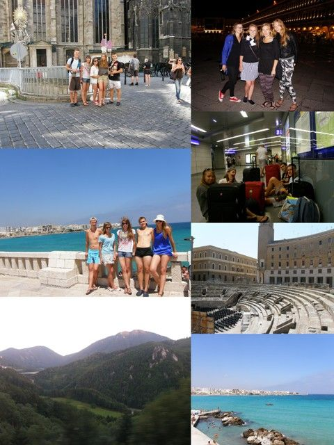 Sākot no Vīnes, līdz Otranto, Lečei, Alpiem un Venēcijai ^^