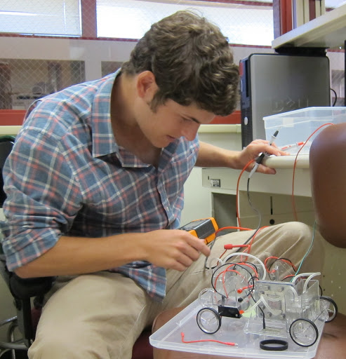 Ross Pimentel is among many student engineers to head to Washington, D.C. with visionary designs and the memory of late Professor Daniel Strickland