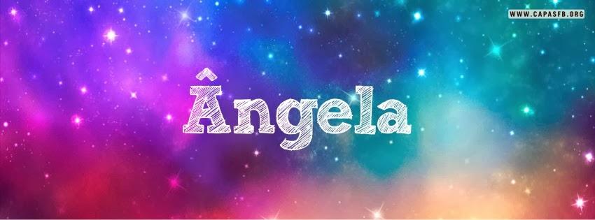 Capas para Facebook Ângela