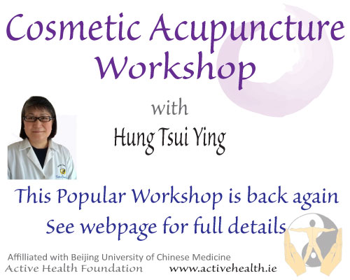 Facial acupuncture course