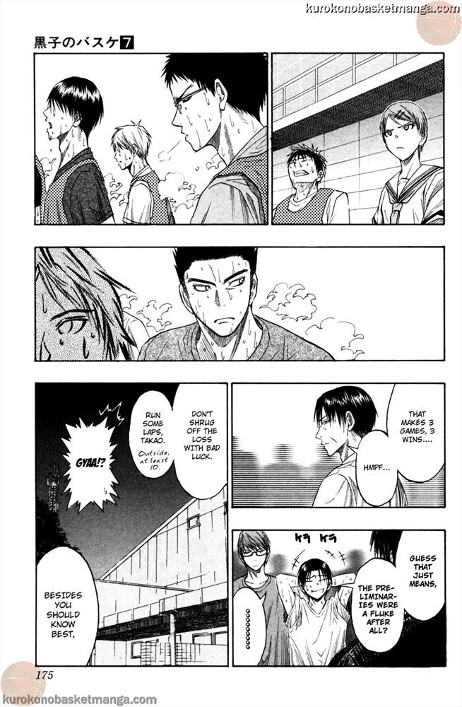 Kuroko no Basket Manga Chapter 61 - Image 3