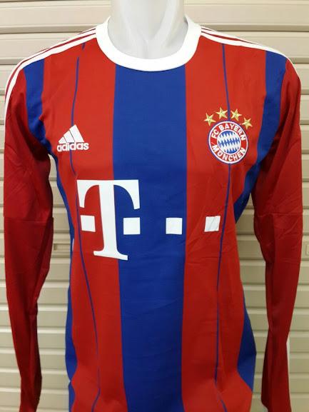 Jual Jersey Bayern Munchen Home Lengan Panjang 2014-2015