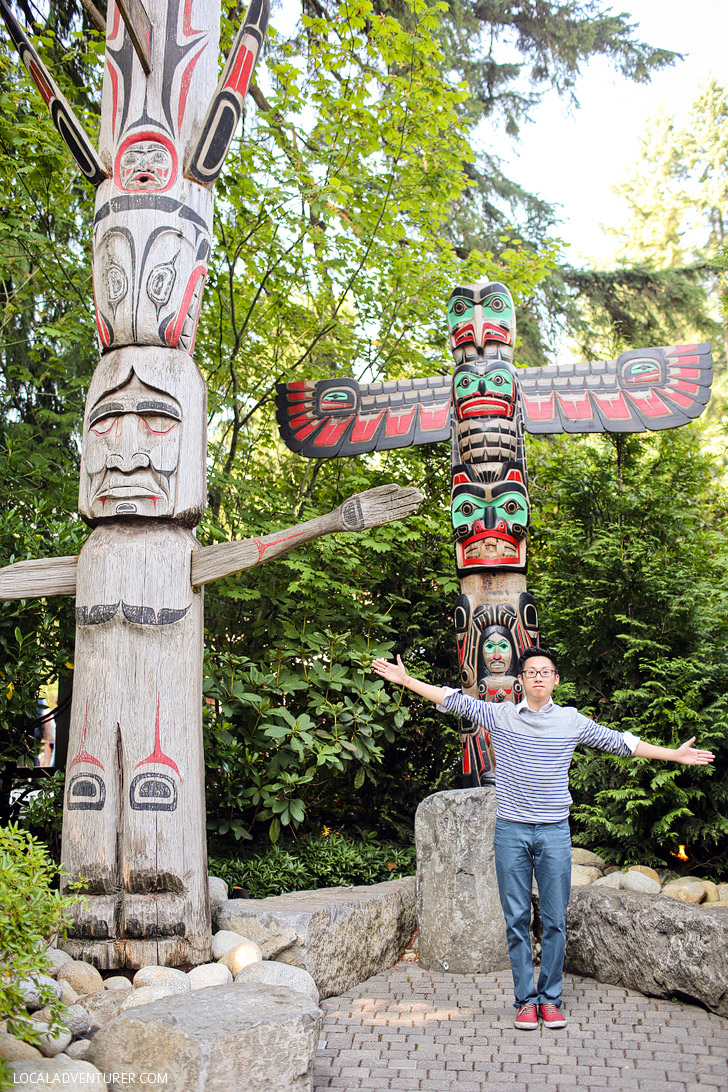 Vancouver Capilano Bridge Park.