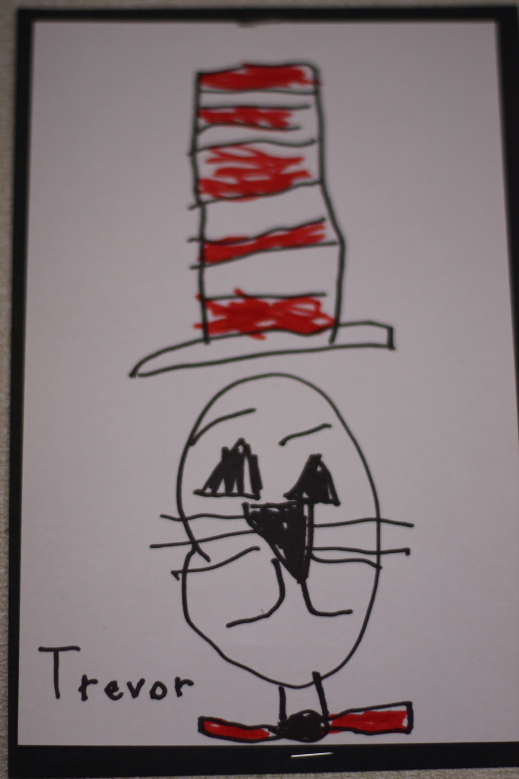 How To Draw The Cat In The Hat Fairy Dust Teaching