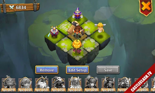 Video Dino Dungeon - New Dungeon - Reset talent Castle Clash