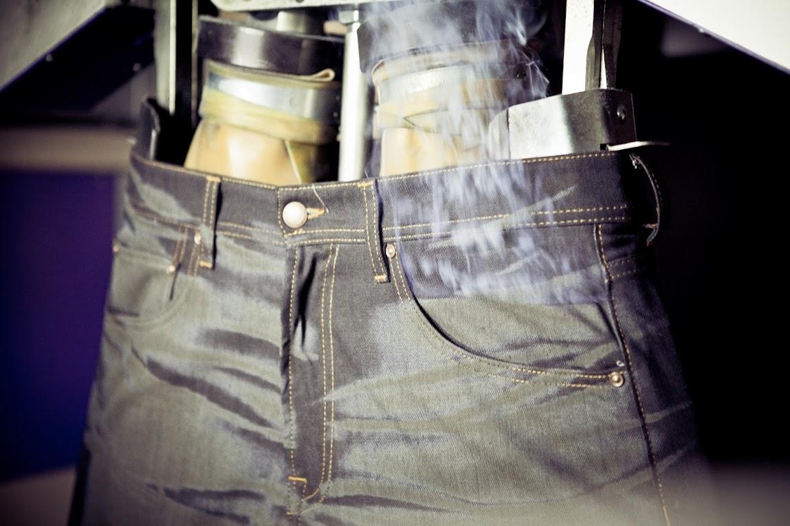 *MCS環保概念的紡織工藝:雷射破壞製作過程完整公開! 5