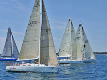 J/120 cruiser racers- sailing Bayview Mackinac Race