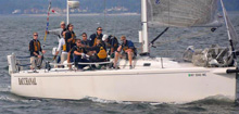J/133 offshore cruising sailboat sailing Long Island New York